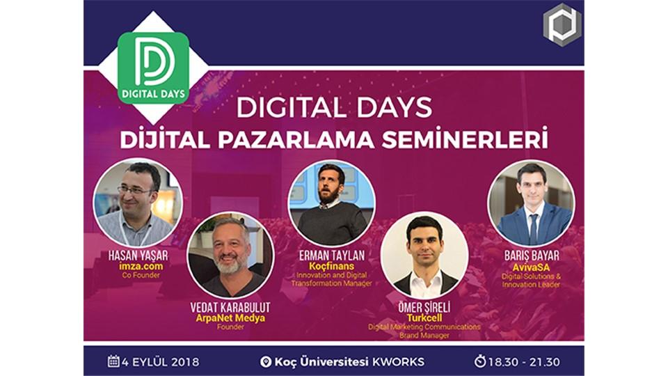 Digital Days - Dijital Pazarlama Seminerleri (ÜCRETSİZ)