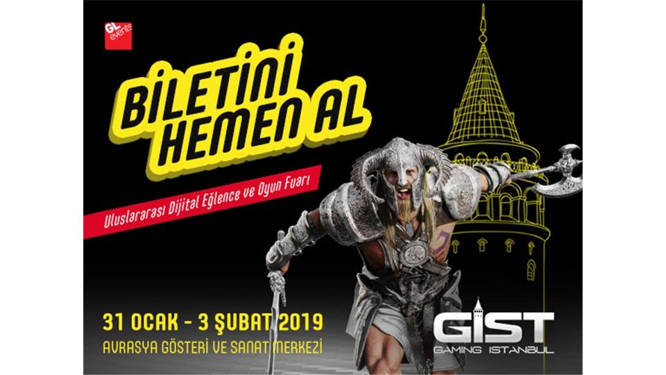 Gaming İstanbul 2019 Uluslararası Dijital Eğlence ve Oyun Fuarı - GIST 2019