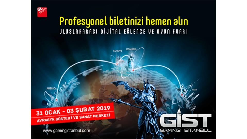 Gaming İstanbul 2019 Uluslararası Dijital Eğlence ve Oyun Fuarı - GIST 2019 - B2B