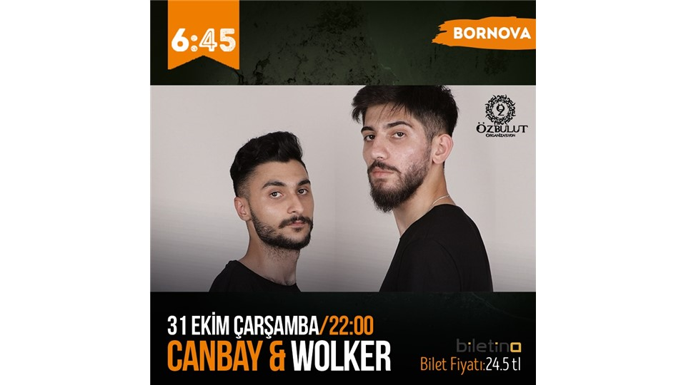 CANBAY WOLKER BORNOVA KONSERİ