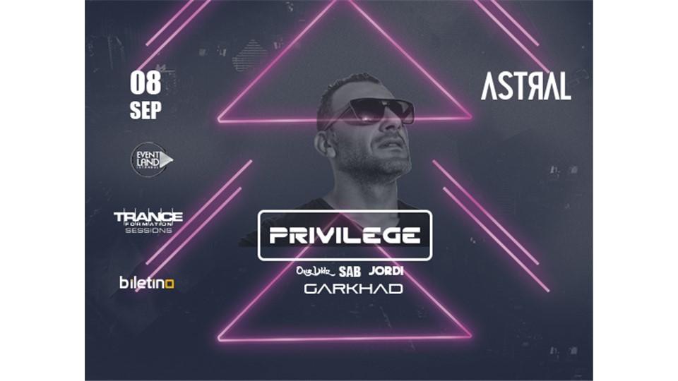 EVENTLAND Istanbul Presents: Privilege