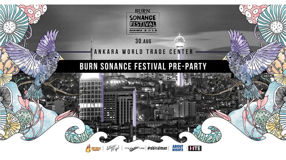 Burn Sonance Festival Pre-Party