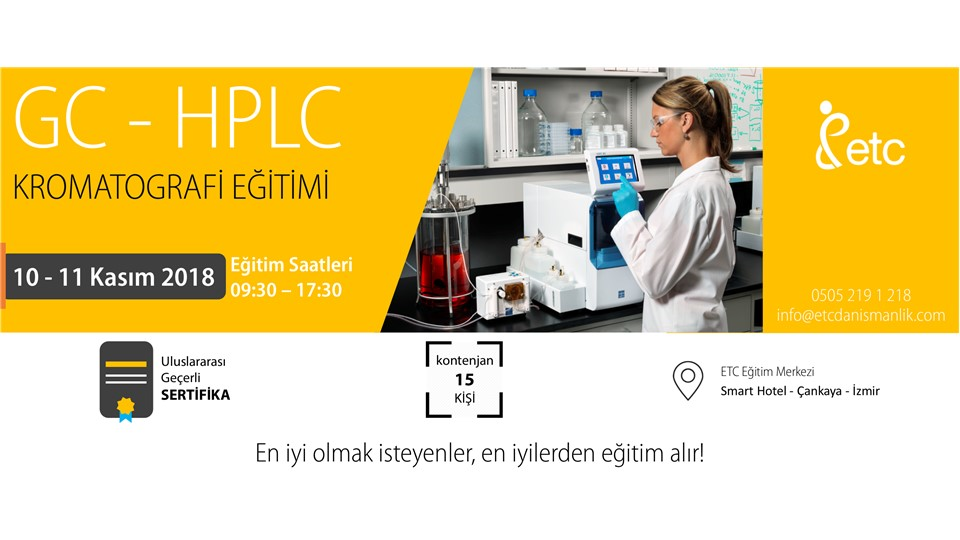 GC ve HPLC Kromatografi Eğitimi