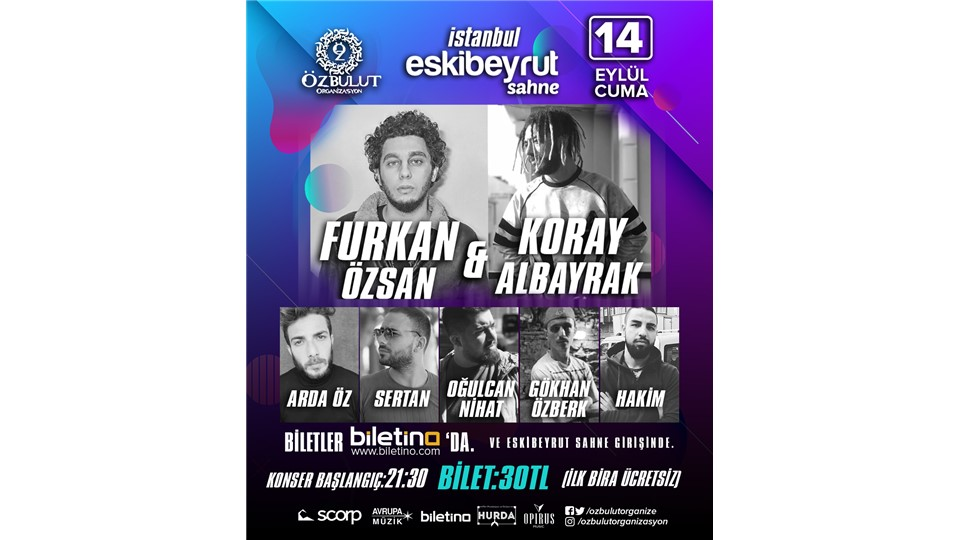 Furkan Özsan  &  Koral Albayrak Konseri