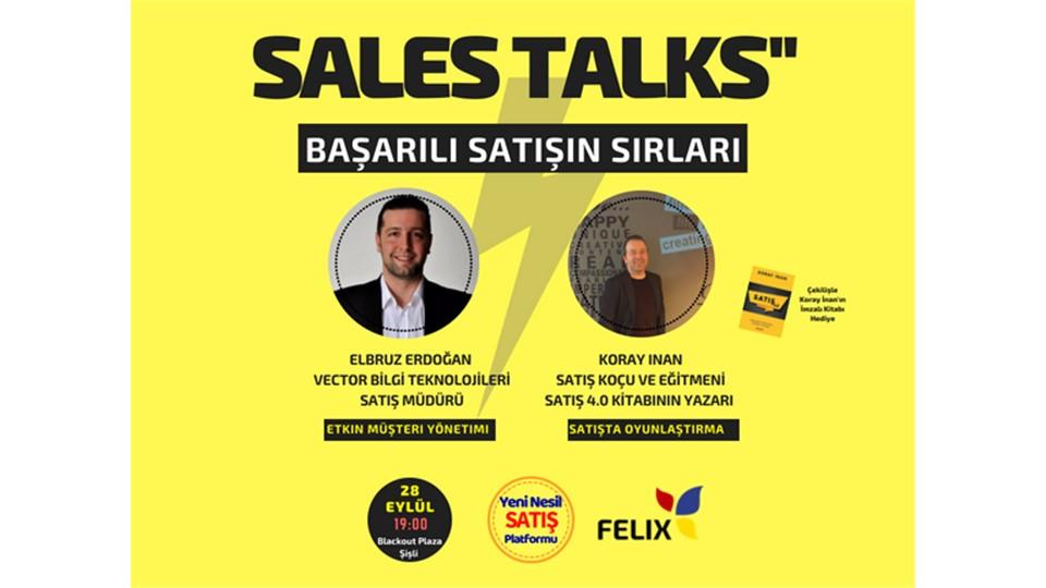 SALES TALKS - Başarılı Satışın Sırları
