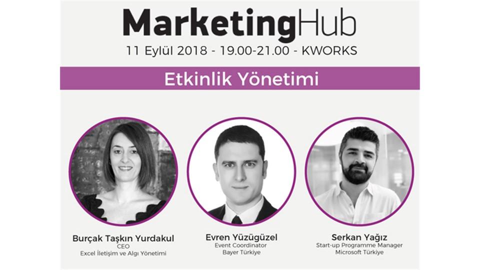 Marketing Hub 11 Eylül de Etkinlik Yönetimi Konusunu Mercek Altına Alıyor