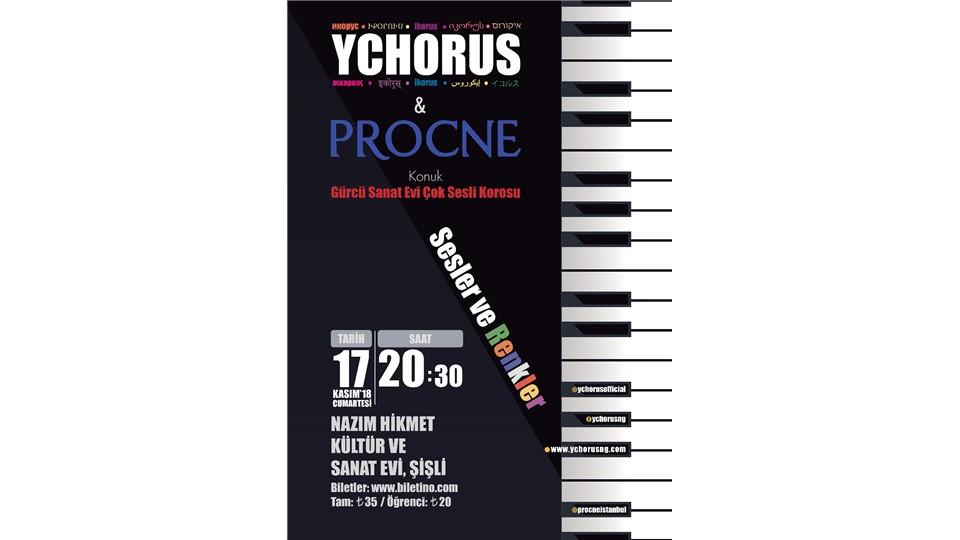 YCHORUS & PROCNE - Sesler ve Renkler (Konuk: Gürcü Sanat Evi Çok Sesli Korosu)