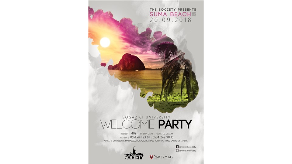 The Society Presents: Bogazici University Welcome Party