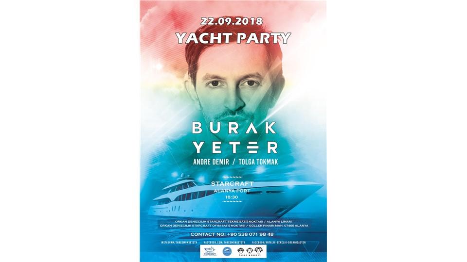 Burak Yeter Yacht Party