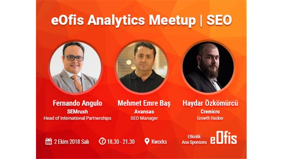 eOfis Analytics Meetup | SEO (Ücretsiz Etkinlik)