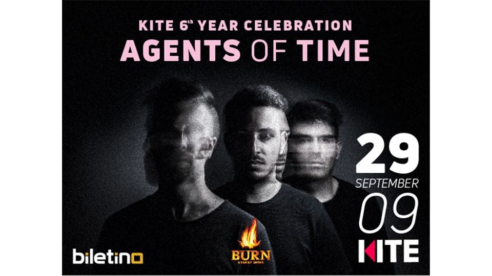 Kite 6th Year Anniversary: Season Opening /w Agents Of Time