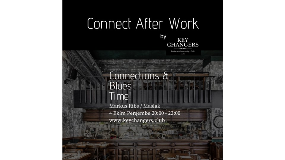Connect After Work by Key Changers @ Markus Ribs