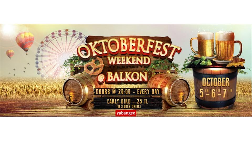 Oktoberfest 2018 Istanbul (Friday 05/10)