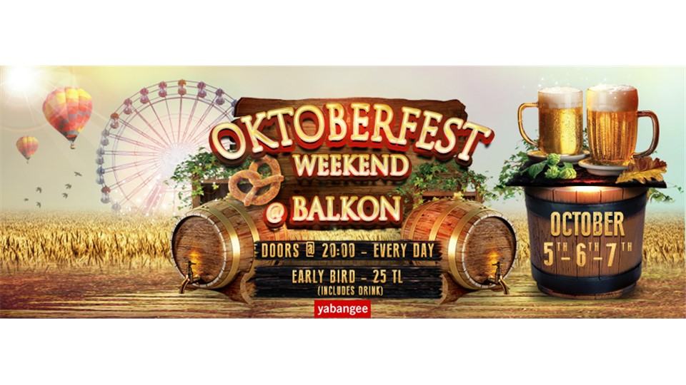 Oktoberfest 2018 Istanbul (Saturday 06/10)
