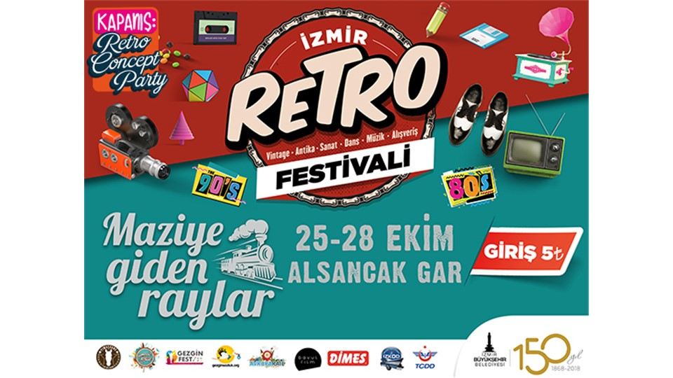 İzmir Retro Festivali | 25-28 Ekim