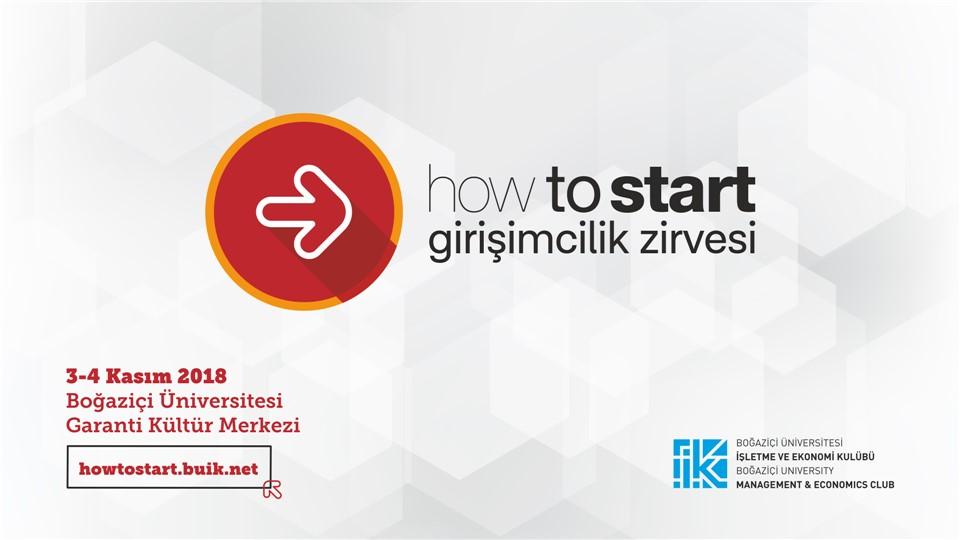 How to Start Girişimcilik Zirvesi
