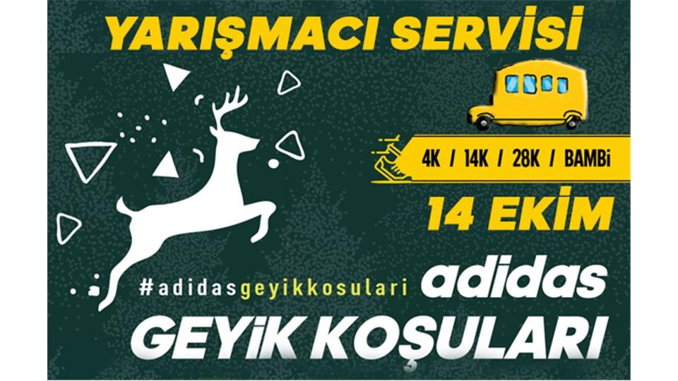 adidas Geyik Koşuları 14 Ekim 2018 - Yarışmacı Servisleri