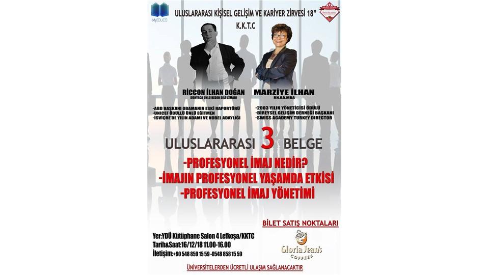 """3. Kıbrıs Uluslararası Kişisel Gelişim ve Kariyer Zirvesi 18"""""""