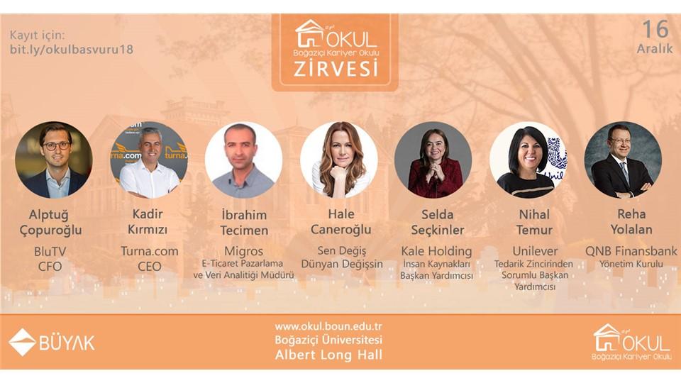 OKUL'18 CEO Summit - Boğaziçi Kariyer Zirvesi