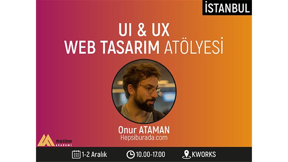 UI & UX Web Tasarım Atölyesi