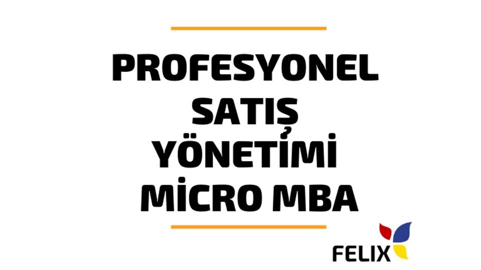 Profesyonel Satış Yöneticiliği Micro MBA Sertifika Programı