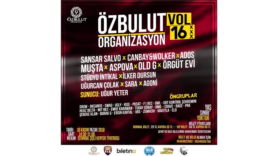 ÖZBULUT VOL.16 (Türkçe Rap Konseri)