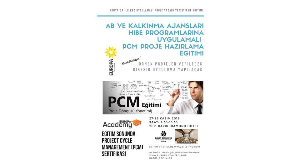 AB ve Kalkınma Ajansları Hibe Programlarına Uygulamalı PCM Proje Hazırlama Eğitimi