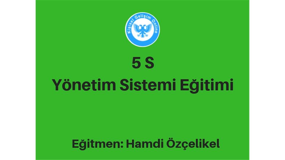 5S Yönetim Sistemi Eğitimi