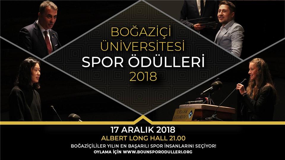 Boğaziçi Üniversitesi Spor Ödülleri 2018