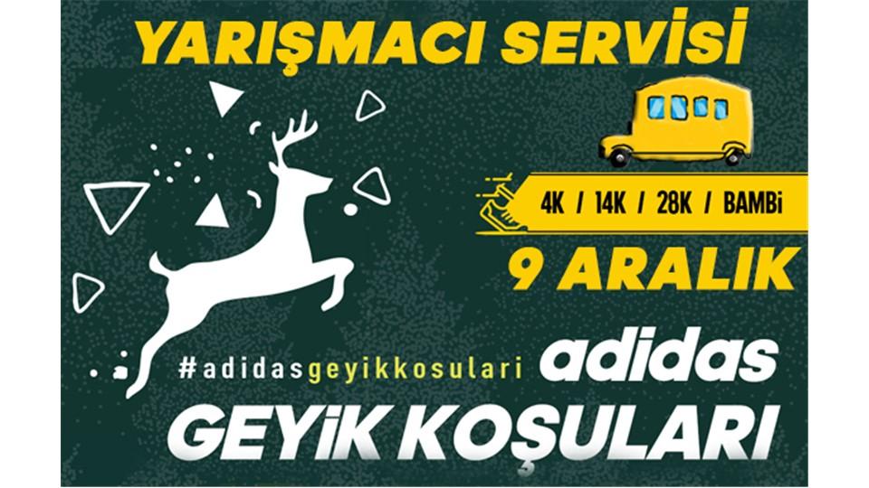 adidas Geyik Koşuları 9 Aralık -  Yarışmacı Servisi
