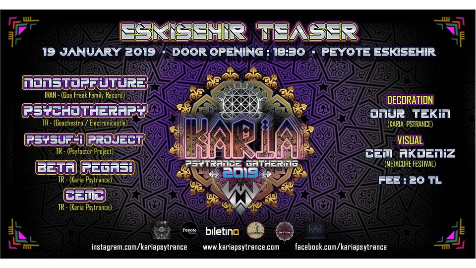 Karia Psytrance Gathering - Eskişehir Teaser
