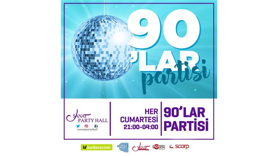 SANAT PARTY HALL 90'LAR GECESİ