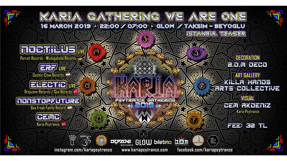 Karia Psytrance Gathering - We Are One - Istanbul Teaser