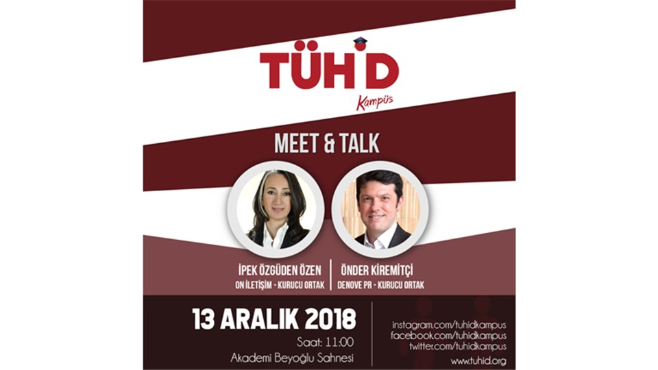 TÜHİD Kampüs Meet & Talk