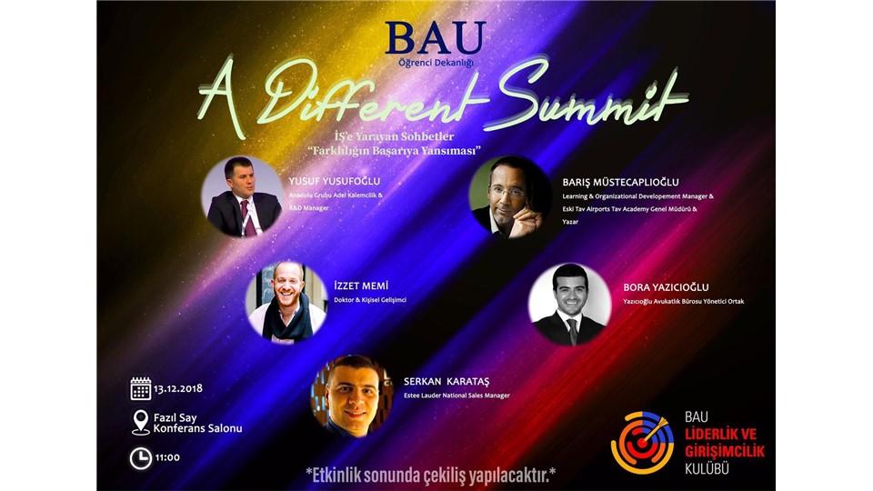 A Different Summit-İŞ'e Yarayan Sohbetler