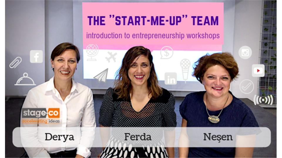 Start Me Up! Girişimciliğe Giriş Atölyesi