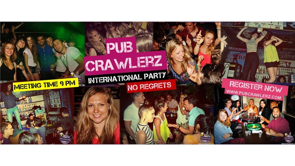 Pub Crawlerz International Party Tour