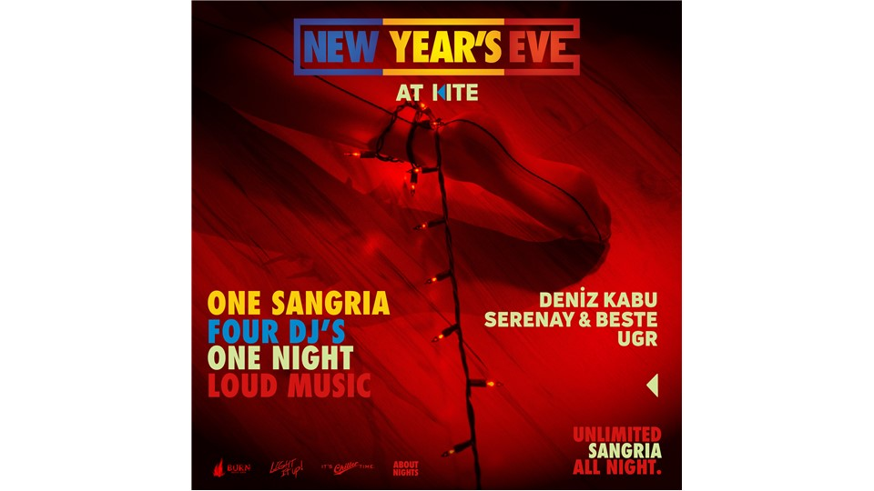 New Year's Eve: Deniz Kabu, Serenay & Beste, UGR