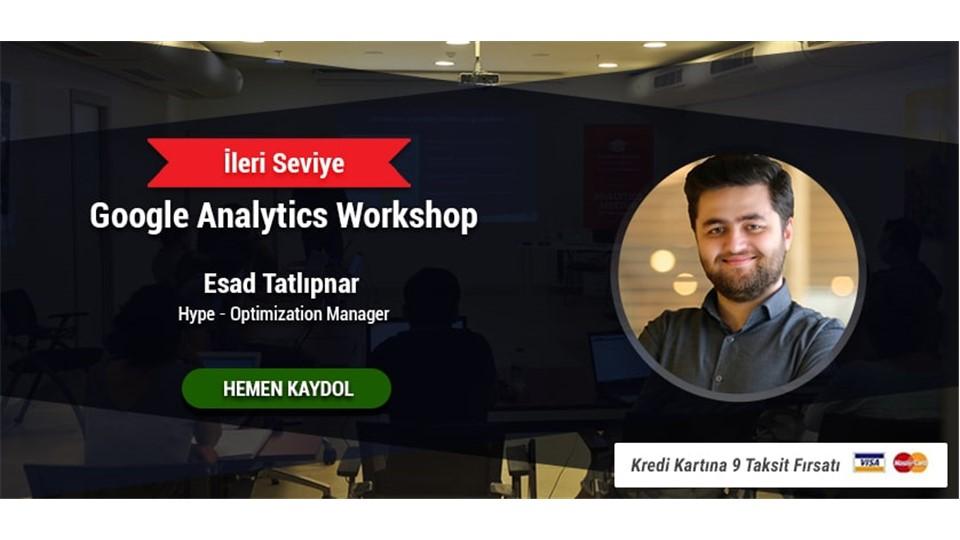 İleri Seviye Google Analytics Eğitimi