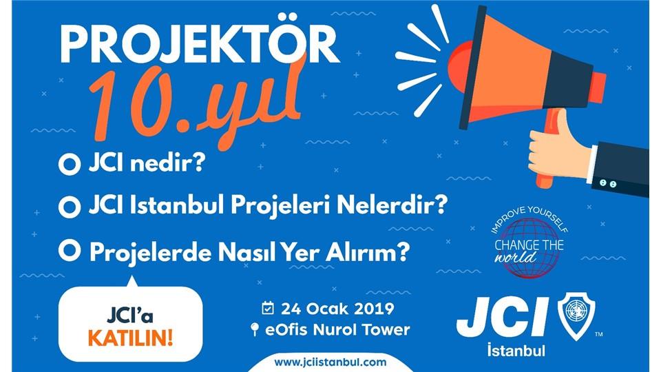 Projektor 2019 - JCI Istanbul Projeleri İle Tanışın !
