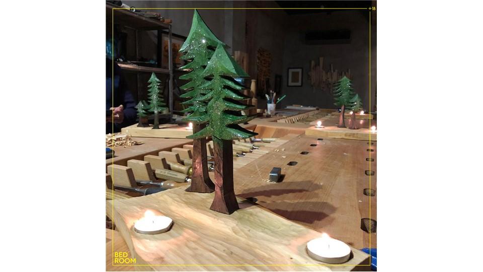 Kadir Ulus ile Ahşap Yılbaşı Ağacı Atölyesi