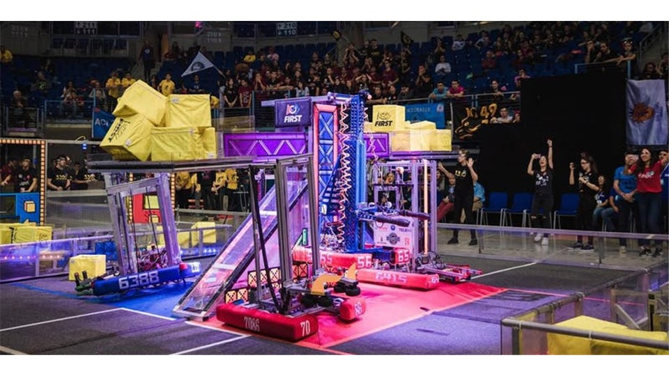 2019 First Robotics Competition - Istanbul Regional
