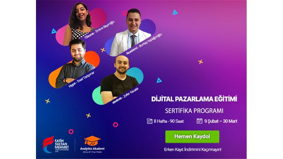 Dijital Pazarlama Eğitimi Sertifika Programı (İstanbul)