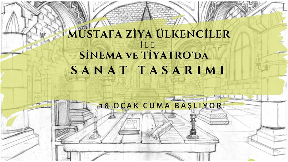Mustafa Ziya Ülkenciler ile Sanat Tasarımı