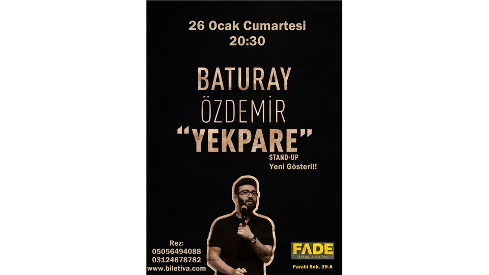 Baturay Özdemir - Yekpare / Stand Up