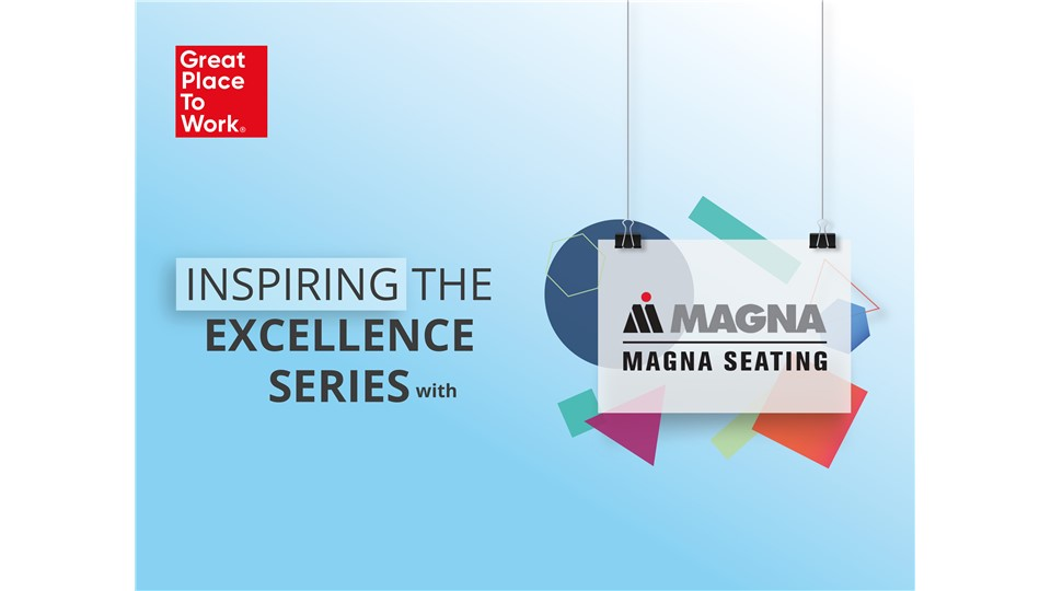 Inspiring The Excellence Series® With Magna Seating
