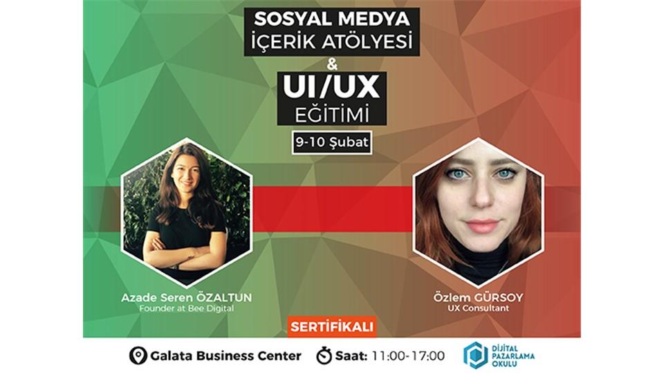 Sosyal Medya İçerik Atölyesi & UI/UX Eğitimi