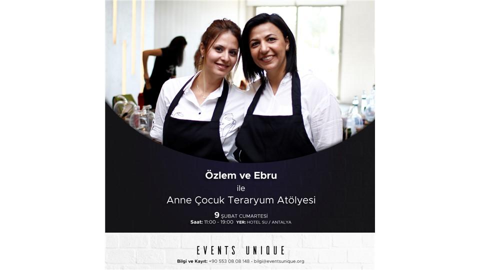 """""""TERARYUM SÜSLÜ BİTKİLER ATÖYLESİ"""" WORKSHOP byeventsunique"""