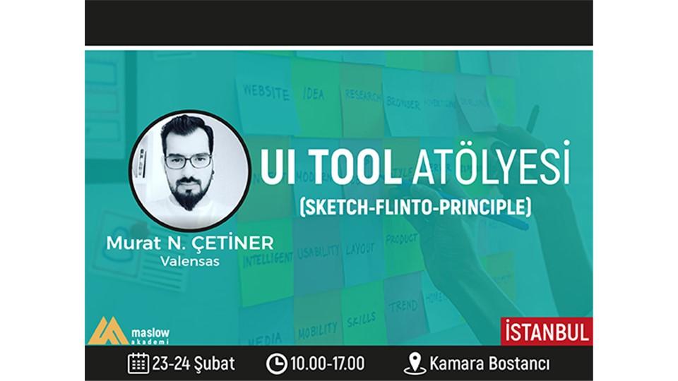 UI Tool Atölyesi (Sketch-Flinto-Principle)