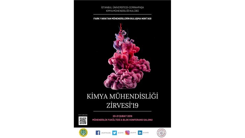 İÜ-C KMK Kimya Mühendisliği Zirvesi